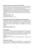 Forskningsprogram vedrørende de sociale tilbud til mennesker med ... - Page 3
