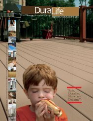 Duralife Decking - Huttig Building Products