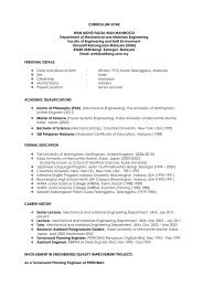 wan mohd faizal wan mahmood - Science Development Network
