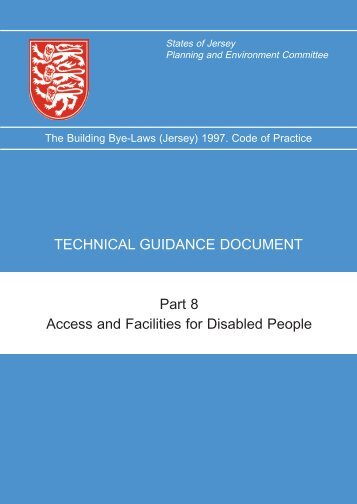 Part 8 Access and Facilities for Disabled People ... - States of Jersey