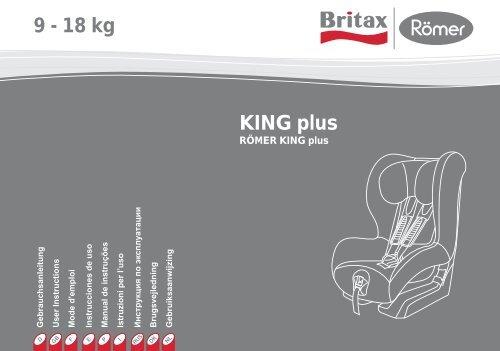 KING plus 9 - 18 kg - Britax Römer