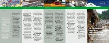 PLANALP La responsabilita dei comuni nella protezione dai ... - Planat