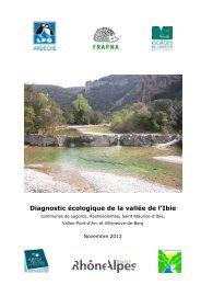 Diagnostic écologique de la vallée de l'Ibie - Villeneuve de Berg