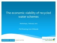 Value of Water Quality Protection - Urban Development Institute of ...