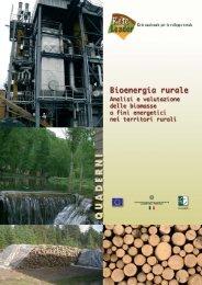 Bioenergia rurale. Analisi e valutazione delle biomasse a fini ... - Inea