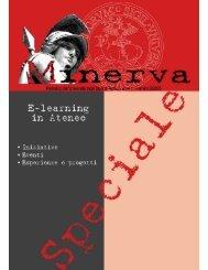 Speciale Minerva - Cisi - Università degli Studi di Torino