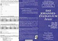 Das Johannes- evangelium heute - Archiati Verlag