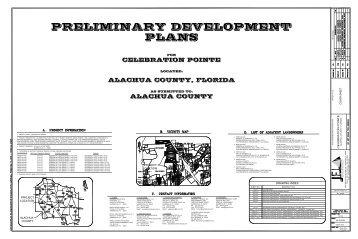 CELEBRATION POINTE ALACHUA COUNTY, FLORIDA ALACHUA ...