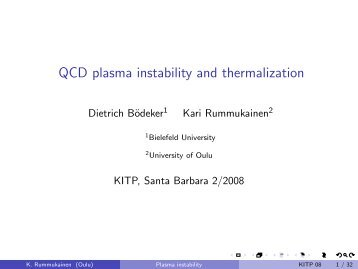 QCD plasma instability and thermalization