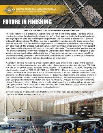 FUTURE IN FINISHING - PRWeb