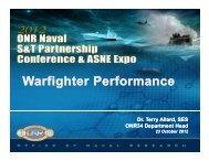 Warfighter Performance - Defense Innovation Marketplace