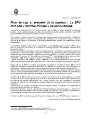 26 mesures pour une école de la réussite - Société pédagogique ...