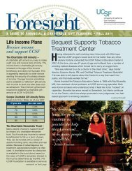 Bequest Supports Tobacco Treatment Center - Planned Giving ...