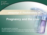 Pregnancy and the Liver - AASLD