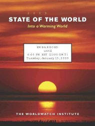 State of the World 2009 - Redlac