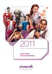 Rapport annuel 2011, version interactive - Investis