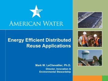 Energy Efficient Distributed Reuse Applications
