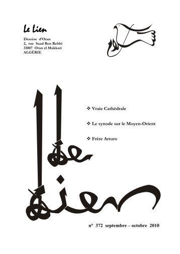 Septembre-Octobre 2010 - Église Catholique d'Algérie