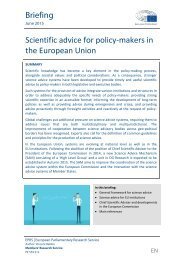 EPRS-Briefing-559512-Scientific-advice-for-policy-makers-in-the-EU-FINAL