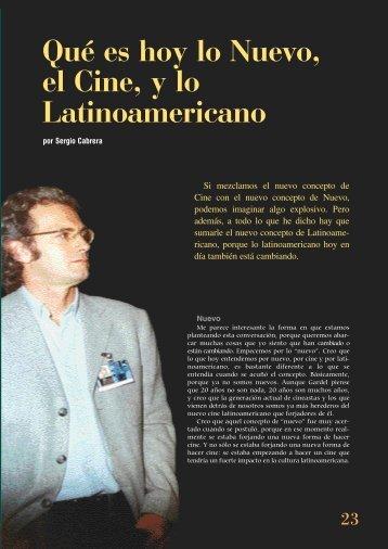 nuevo cine latinoamericano - Fundación del Nuevo Cine ...