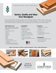 Service, Quality and Value from Woodgrain - Abs-Link.com