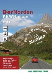 Katalog Individualreisen downloaden - von Elch Adventure Tours