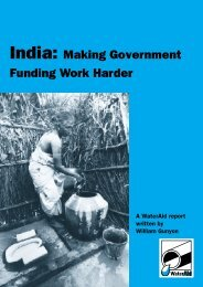 India: making government funding work harder - WaterAid