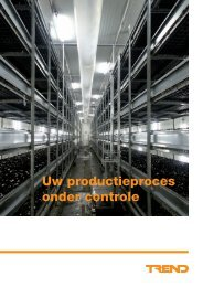Uw productieproces onder controle - Regelvisie