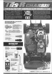 Tamiya TGS-R Manual - Wheelsacademy.info