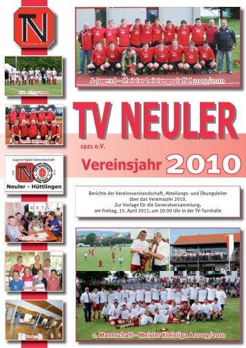 Jugendfußball - TV Neuler