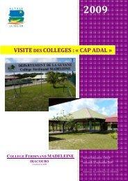 Visite du Collège Ferdinand Madeleine