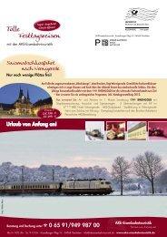 Mailing Oktober 2011 - AKE Eisenbahntouristik
