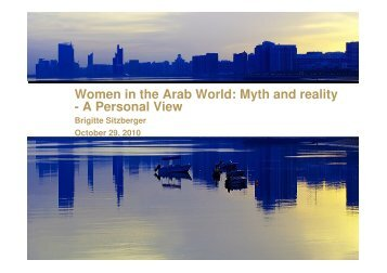 Women in the Arab World - Interkultureller Kongress