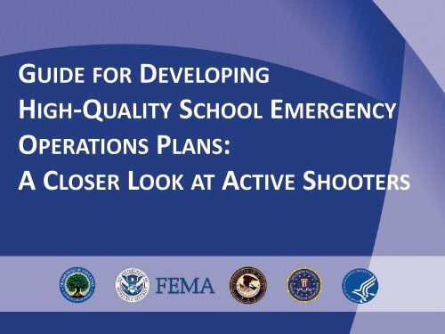 Slides - Readiness and Emergency Management for Schools (REMS)