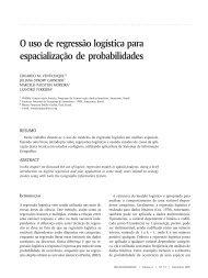 25 O uso de regressão logística para espacialização de ...