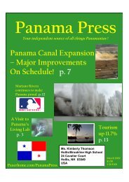 Panama Canal Expansion - Pauer Home Page