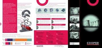 Power Industry - Cooper Bearings