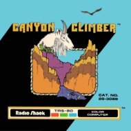 Canyon Climber (Tandy).pdf - TRS-80 Color Computer Archive