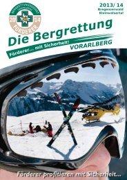 Fördererbericht Bregenzerwald - Bergrettung Vorarlberg