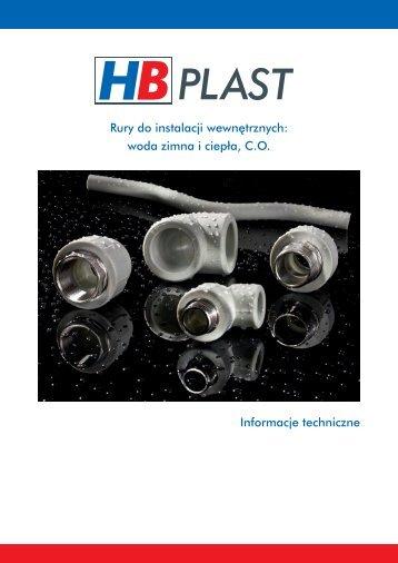 hbplast_11_2011_Informacje techniczne.pdf - BIMs PLUS