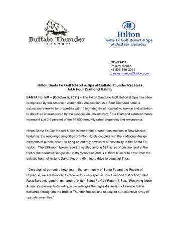 Hilton Santa Fe Golf Resort & Spa - Buffalo Thunder Resort & Casino
