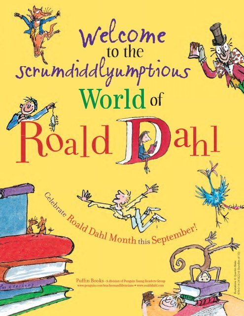 Roald Dahl Guide_6-22-09.indd - Ingram Library Services