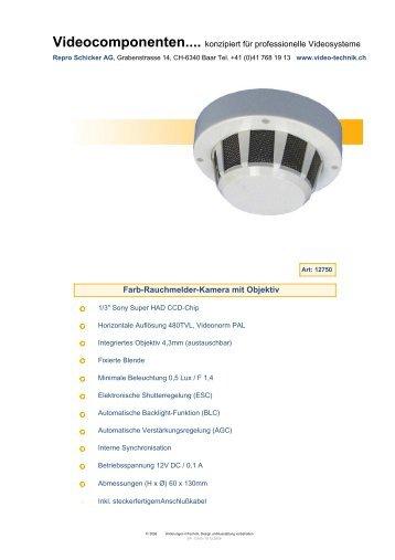 Videocomponenten.... konzipiert für professionelle Videosysteme ...