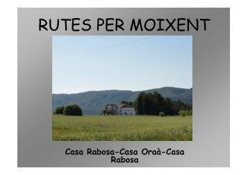 Ruta Casa Rabosa-Casa Oràa-Casa Rabosa [Modo de ... - Moixent