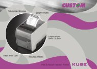 POS & Retail Thermal Printer - Progetto 6 srl