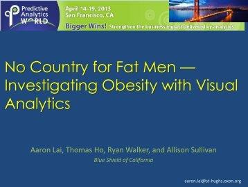 No Country for Fat Men - Predictive Analytics World