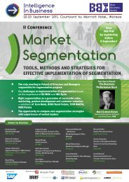 Market Segmentation 2011 WEB ... - Blue Business Media