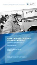 View the Emergency Response Planning Workshop ... - NBAA