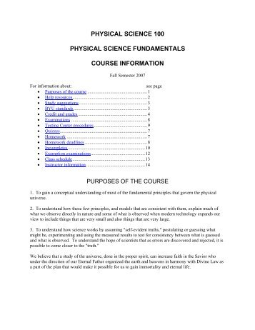 physical science 100 physical science fundamentals course ...
