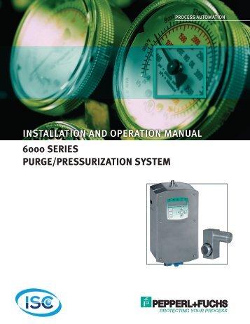 6000 Series Purge/Pressurization System - ISC Enclosure Cooling